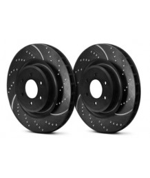 Тормозные диски EBC Chrysler 300C SRT8 EBC Brakes GD7365 - 14.2 Brake Rotors Dimpled and Slotted 3GD