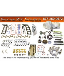 Ремкомплект двигателя 2005 2006 Dodge & Chrysler 2.7L DOHC VIN R Engine Rebuild Kit EK1116M