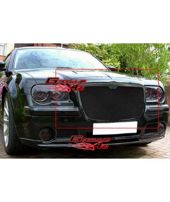 Решетка радиатора 05-10 Chrysler 300/300C Stainless Black Mesh Grille