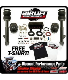 "Пневмоподвеска AIR LIFT 2004-2010 CHRYSLER 300 2WD 5"" DROP LOWERING SUSPENSION BAG KIT AIRLIFT"