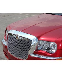 Накладка на капот Chrysler 300C Chrome Grille grill Mustache cover 05-10