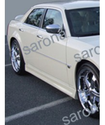 Пороги боковые 04-08 05 06 07 Chrysler 300C 4dr 003 Side Skirts by Sarona