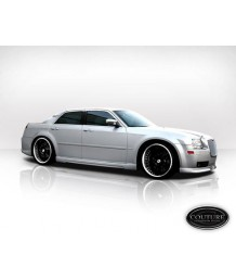 Пороги боковые 05-10 Chrysler 300 300c Executive SIDE SKIRTS Kit Auto Body Rocker Panels - 2 Pc