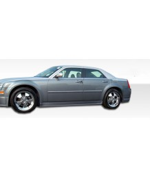 Пороги боковые 05-2010 Chrysler 300 300C 4dr VIP Side Skirts in DuraFlex