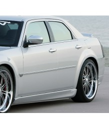 Пороги боковые 05-09 Chrysler 300 300C Xenon Urethane Side Skirts